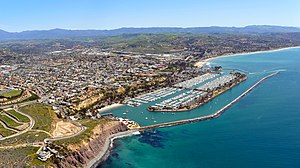 Dana Point, California - Aerial view of Dana Point