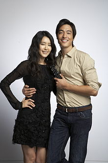 Daniel Henney and Chae Jung An in 2008.jpg
