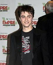 Daniel Radcliffe, l'acteur qui joua le rôle de Harry Potter dans les films