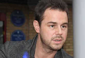Danny Dyer - Dyer at Upton Park football ground, in 2010