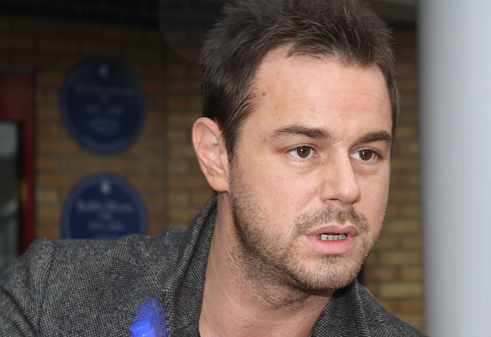 Danny Dyer at Upton Park, 02 Oct 2010