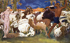 The Shepherds, Daphnis and Chloe
