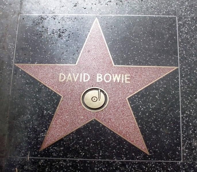 David Bowie holywood