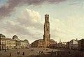 De Markt in Brugge, 1826, Groeningemuseum, 0040238000.jpg
