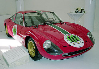 De Tomaso Vallelunga Motor vehicle