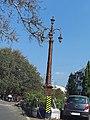 Decorated Lamp post near Omkareshwar mandir pune.jpg