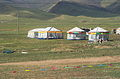 Decorated tent near lake Qinghai.jpg