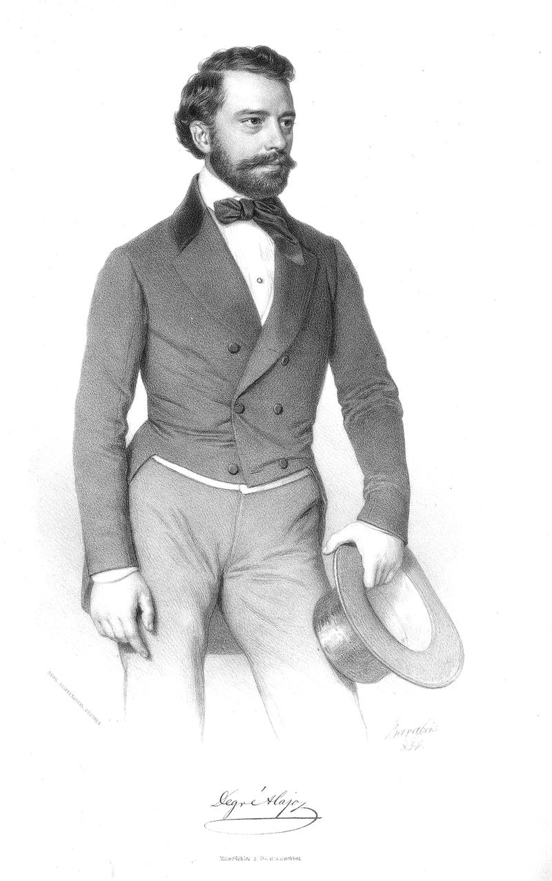 Degré Alajos 1854