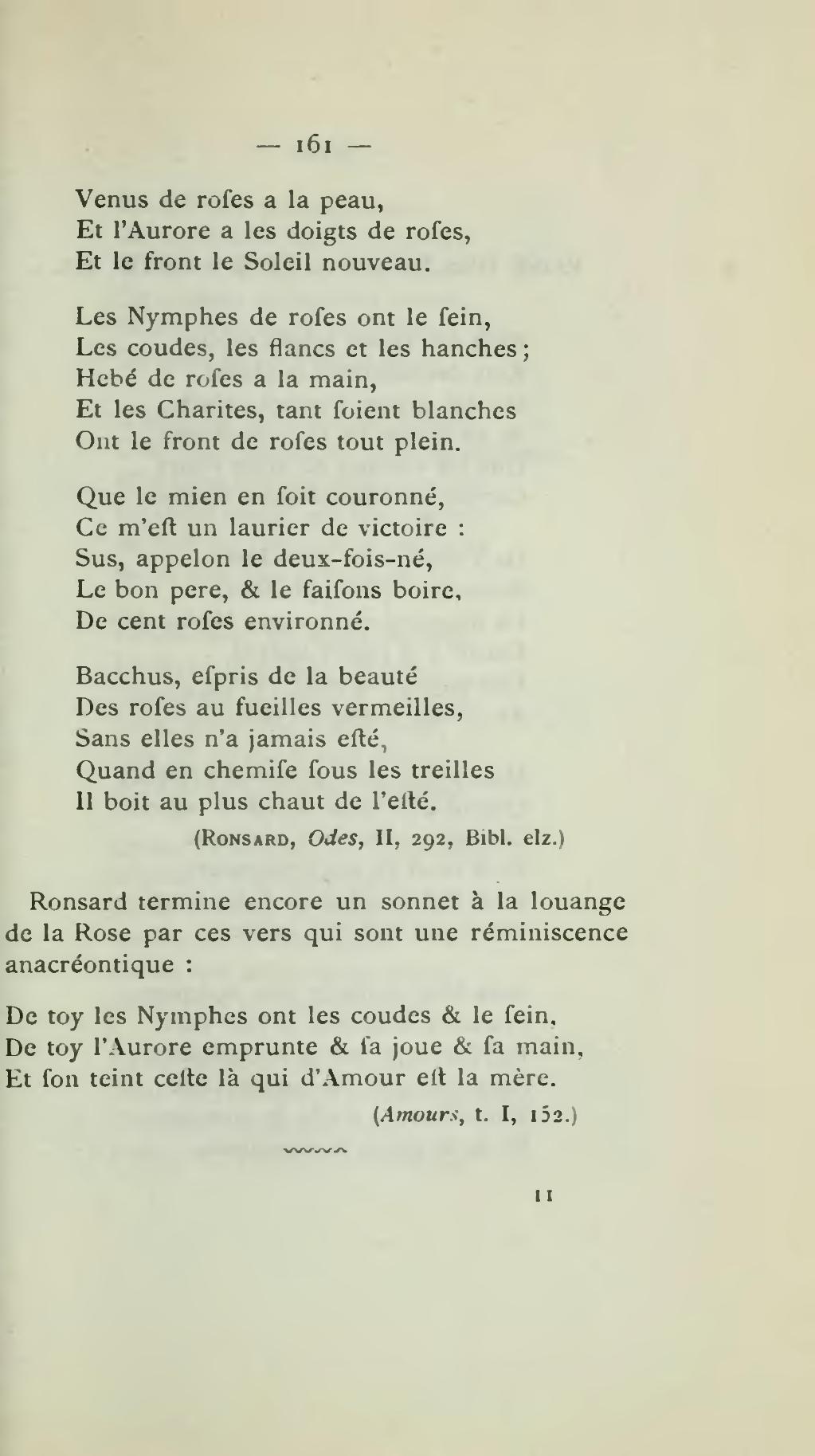 Pagedelboulle Anacréon Et Les Poèmes Anacréontiques 1891