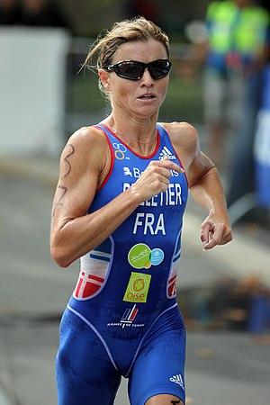 Delphine Pelletier - Delphine Pelletier at the Military Triathlon World Championship in Lausanne, 2012.