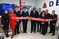 Delta returns to Cuba after 55-year hiatus (30538793434).jpg