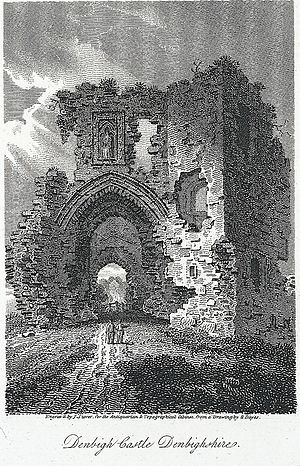 Denbigh - Image: Denbigh castle, Denbighshire