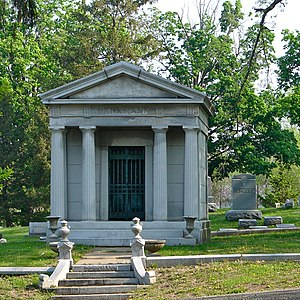 Chippiannock Cemetery - Denkmann Mausoleum