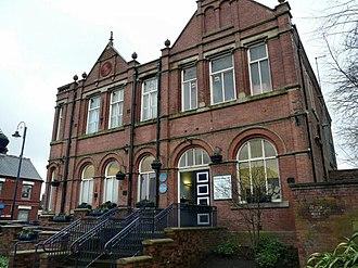 Denton, Greater Manchester - Image: Denton Town Hall