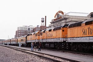 Denver Union Station - Denver Ski Train, 2003