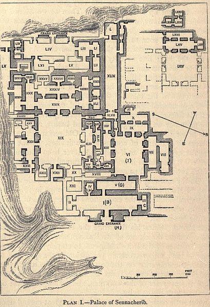 Archivo:Der Palast von Sennacherib.jpg
