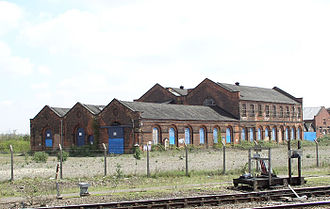 Derby Works - The Midland Counties Railway workshop in Derby 2006