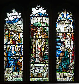 Cecil Frances Alexander - Stained glass window in memory of Cecil F. Alexander