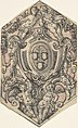 Design for a Coat of Arms with Putti holding Garlands MET DP803107.jpg