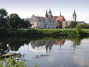 Dessau-Roßlau - View over Dessau.
