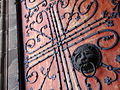 Detail of Doors with Wrought Iron Design - Marburg - Germany - 02.jpg