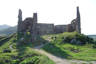 Ladislaus III Kán - Ruins of Déva (Deva) Castle, his domain's centre