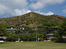 Le volcan Diamond Head.