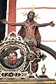 Die Kanzel aus dem Jahr 1581 mit einem fantastischen Bildprogramm. Christus als Weltenrichter.jpg