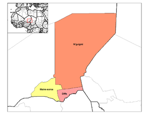 Departments of Niger - Departments of Diffa
