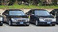Diplomatic cars in New Otani Hotel carpark Tokyo Metropolis - Japan.jpg