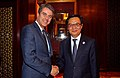 Director-General Roberto Azevêdo met with China's Minister of Commerce Gao Hucheng in Qingdao.jpg