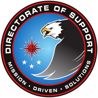Official Seal of Directorate of Support Directorate of Support.png