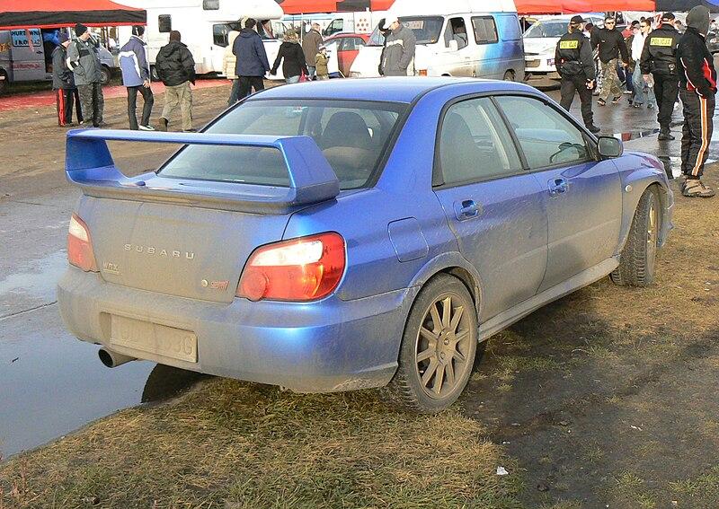 File:Dirty Subaru Impreza WRX STi - 002.jpg