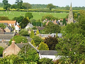 Diseworth - The village photographed in May 2009