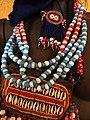 Display of Woman's Traditional Jewelry - Institute of Ethiopian Studies (Ethnographic Museum) - Addis Ababa University - Addis Ababa - Ethiopia (8667492065).jpg