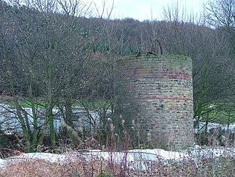 Margrove Park - Disused mine ventilation shaft, Margrove Park caravan site