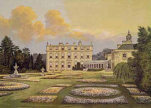 Ditchley - Ditchley House, side view