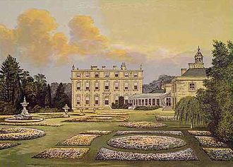 Earl of Lichfield - Ditchley House, the seat of the Lee family and current home of the Ditchley Foundation