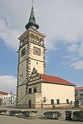Dobruška - Image: Dobruška radnice
