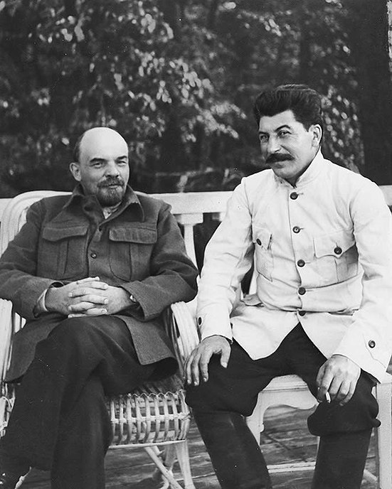 Fail:Doctored Stalin-Lenin.jpg