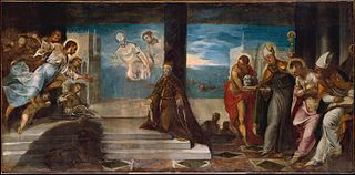 Doge Alvise Mocenigo (1507–1577) Presented to the Redeemer