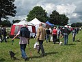 Dogs everywhere at the Hearing Dogs Summer Fayre 2009 - geograph.org.uk - 1344789.jpg