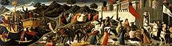 Domenico di Michelino: Battle of Camilla and Aeneas