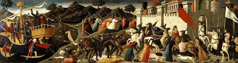 File:Domenico di Michelino - Battle of Camilla and Aeneas - 62.164 - Indianapolis Museum of Art.jpg