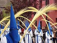 Domingo de Ramos, Cofradía de la Entrada (Zaragoza)