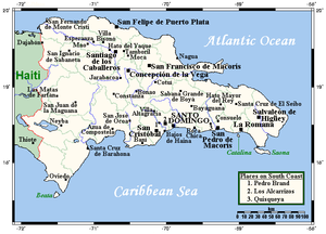 Geography of the Dominican Republic - Image: Dominican Republic OMC