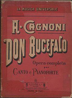 <i>Don Bucefalo</i> opera