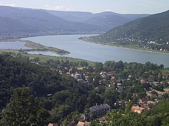 Danube - The Danube in Visegrád