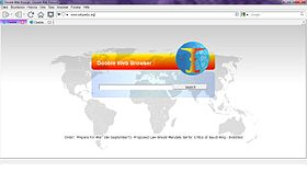 Dooble Web Browser 1.22 Windows 7