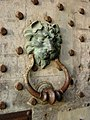 Door knocker, Leeds Castle - geograph.org.uk - 335282.jpg